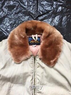 1950s Eddie Bauer Rare Vintage Goose Down Quilted Jacket Coat Parka SO NICE