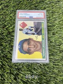 1955 Topps #123 Sandy Koufax Brooklyn Dodgers VG-EX PSA 4 Nice Eye Appeal Rare