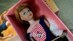 1964 Titian Skipper Bendable Leg Doll In Original Box Very Nice Rare