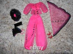 1979 Vintage Barbie #2256 Atelier Fest Htf Rare German Outfit Complete Nice