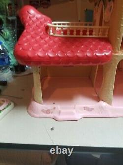 1983 Strawberry Shortcake Berry Happy Home RARE PLAYSET HOUSE CLEAN! NICE