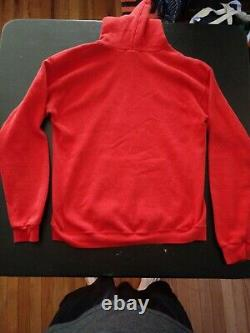 AFI A Fire Inside Art Of Drowning Red Hoodie 2000 Vintage Punk Rare Nice Large L