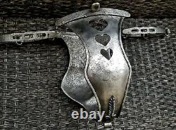 Amazing Antique Very Rare Curious Iron Chastity Belt 18 th Cent Nice Age Patina