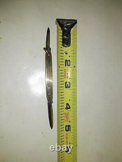 Antique 14KT Gold George Wostenholm 1XL Sheffield 2-Blade Pocket Knife NICE RARE