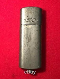 Antique 1906 Rare Eveready Lighter Used In Wwi Nice Condition
