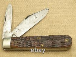 Antique Case Tested 1920-1940 62031 ½ Barehead Heavy Jack Green Bone Rare & Nice