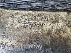 Antique Rare F Dick German HOG Splitter Cleaver Nice Age Patina Wood Handle