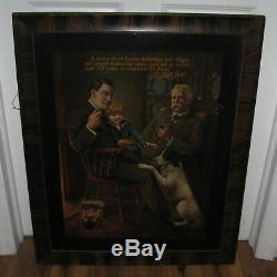 Antique Vintage Rare Early 1900s Joe Velvet Tobacco Tin Advertising Sign Nice