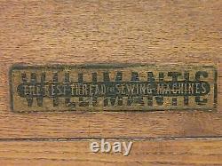 Antique Willimantic, 6 Drawer Spool Cabinet, Super Nice, Rare