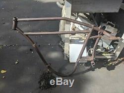 Antique vintage rare Indian hedstrom Powerplus frame 1914 nice oem