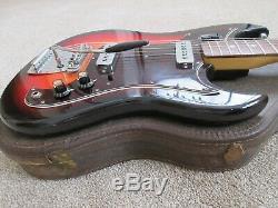 Conrad Vintage Matsumoku MIJ Electric Guitar Original Case Rare Nice