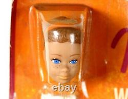 EXTREMELY RARE! Vintage NRFB Midge Barbie Wig Wardrobe Box Date 1964 NICE