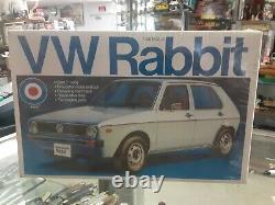 Entex 1/20 scale VW Rabbit Volkswagen RARE STILL SEALED LOOK NICE FREE SHIPPING
