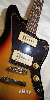 Harley Benton Jazzmaster Style P-90 Offset Guitar, Nice Vintage P90 Guitar RARE