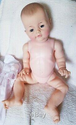 Ideal 25 Bye Bye Baby Doll Vintage 1961 Playpal baby Rare Find Nice coloring