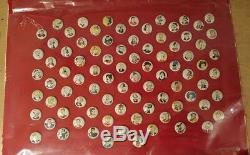 KELLOGS PEP PINS Complete set of 86! Nice condition RARE