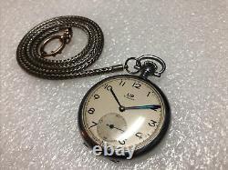 Lip Mechanical Pocket Watch Antique Vintage Rare Model Nice