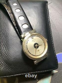 Lord Elgin Deco Vintage Watch, Bullseye Dial, Orig. Nice, Rare