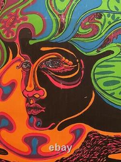 Lucy In The Sky With Diamonds-LSD-vintage original black light poster RARE-Nice
