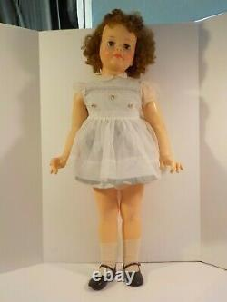 N Vintage Ideal Patti Playpal 1960's rare Complete 35 Doll Brunette NICE Clean