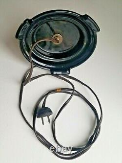 NICE Antique Rare Cambridge Glass MONKEY Lamp ORIGINAL 1920s 2 Chimps