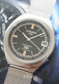 Nice & Rare Vintage Citizen Cosmotron X8 Electronic Watch. Gent Size