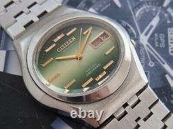 Nice & Rare Vintage Citizen Leopard 28800 Automatic 28 Jewels Japan Watch