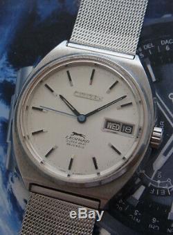 Nice & Rare Vintage Citizen Leopard Super Beat Automatic 26 Jewels Japan Watch