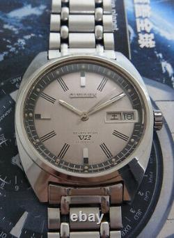 Nice & Rare Vintage Citizen Seven Star V2 Automatic 21 Jewels Watch All Original