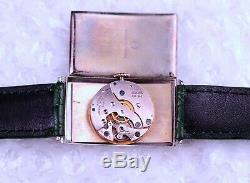 Nice Rare Vintage Oris Unique Funky Big Number from 40's Men's Wrist Watch