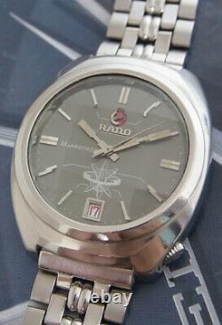 Nice & Rare Vintage Rado Marstron Electronic Movement Swiss Made Watch