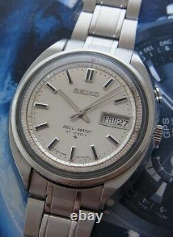 Nice & Rare Vintage Seiko Bell Matic 4006-7000 Automatic 27 Jewels Alarm Watch