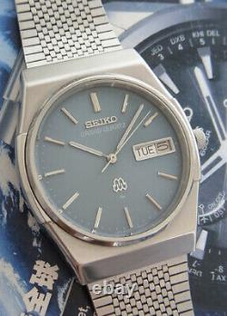Nice & Rare Vintage Seiko Grand Quartz Day/date Model 9256-7000 Japan Made Watch