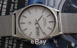 Nice & Rare Vintage Seiko Grand Quartz Day/date Model 9943-8030 Japan Made Watch