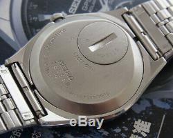 Nice & Rare Vintage Seiko King Quartz Day/date Model 5856-8030 Japan Made Watch