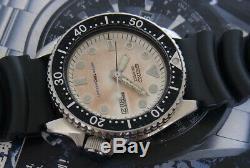 Nice & Rare Vintage Seiko Quartz Diver 150m 6458-600a Quartz Japan 37.5 MM Watch