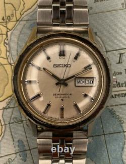 Nice & Rare Vintage Seikomatic-R 8306-9059 Seikomatic 30 jewels Automatic Watch