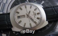 Nice & Rare Vintage Technos Skysonic Automatic 25 Jewels Swiss Made Watch