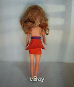 Nice Very Rare Vintage Doll In Original Costume, Germany-gdr/ddr, 1972