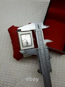 Nos Sandoz Automati Nice Dial Rare Mens Wrist Watch Swiss Day/date Top Condi #2