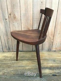 Original Vintage George Nakashima -mira- Walnut Chair - Nice Patina - Rare