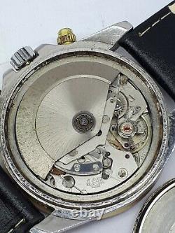 Philip Esterel Chrono Valjoux 7750 Date Wrist Watch Swiss Mens Rare Nice Dial