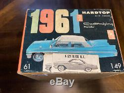 RARE AMT # K-521 1961 BUICK INVICTA HARDTOP 3 in 1 ANUAL KIT UNBUILT NICE