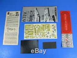 RARE AMT# S-622-200 1962 PONTIAC BONNEVILLE HARDTOP ANNUAL UNBUILT NICE 3 in 1
