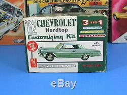 RARE AMT# S-722-200 1962 CHEVROLET IMPALA SPORT COUPE ANNUAL UNBUILT NICE 3 in 1