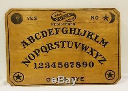 RARE Antique William Fuld Ouija Board (circa 1911-1914) Nice Condition