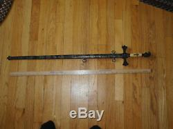 RARE MASONIC Antique KNIGHTS TEMPLAR Mystic ROOSTER SWORD! Very Nice Condition
