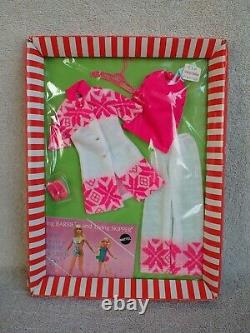 RARE MIP Barbie PJ Stacey Doll #3412 Fun Flakes Outfit 1969 Very Nice