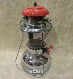 RARE Vintage UNIMET Lantern Coleman & Petromax Look Mantle Fishing Camping -NICE