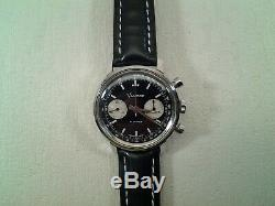 RARE/Vintage VANTAGE 1970's Hamilton Chronograph Wristwatch NICE